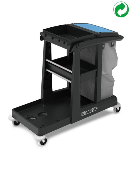 Picture of Numatic Eco-matic EM3 Janitorial Trolley