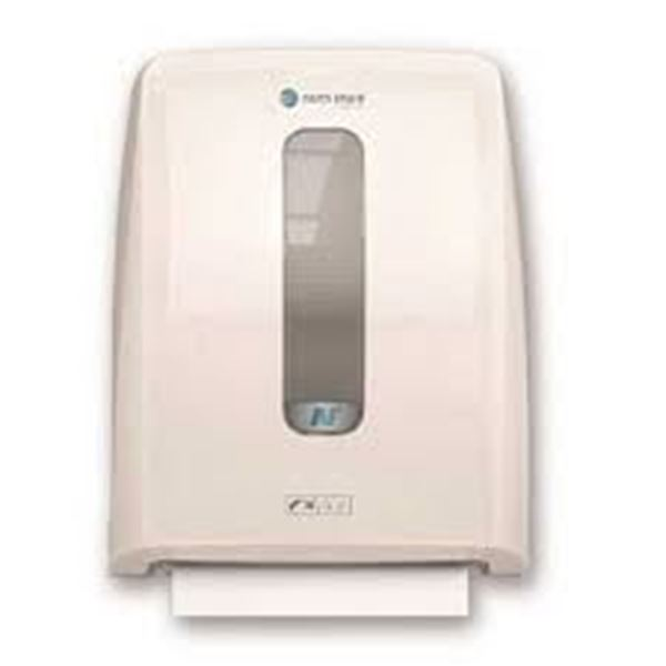 Picture of Bay West Hybrid Folded Hand Towel Dispenser - White