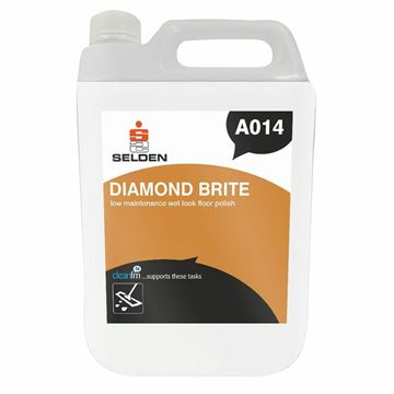 Picture of Selden A014 Diamond Brite Wet Look Floor Polish - 5 Litres